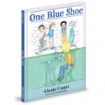 One Blue Shoe