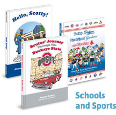 Childrens Book Publishing Company for Schools and Sports Teams