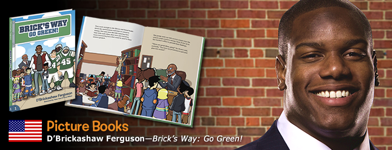 D'Brickashaw Ferguson a Mascot Books Children's Book Publishing Author
