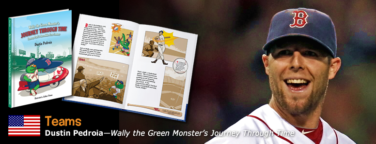 Dustin Pedroia a Mascot Books Children's Book Publishing Author