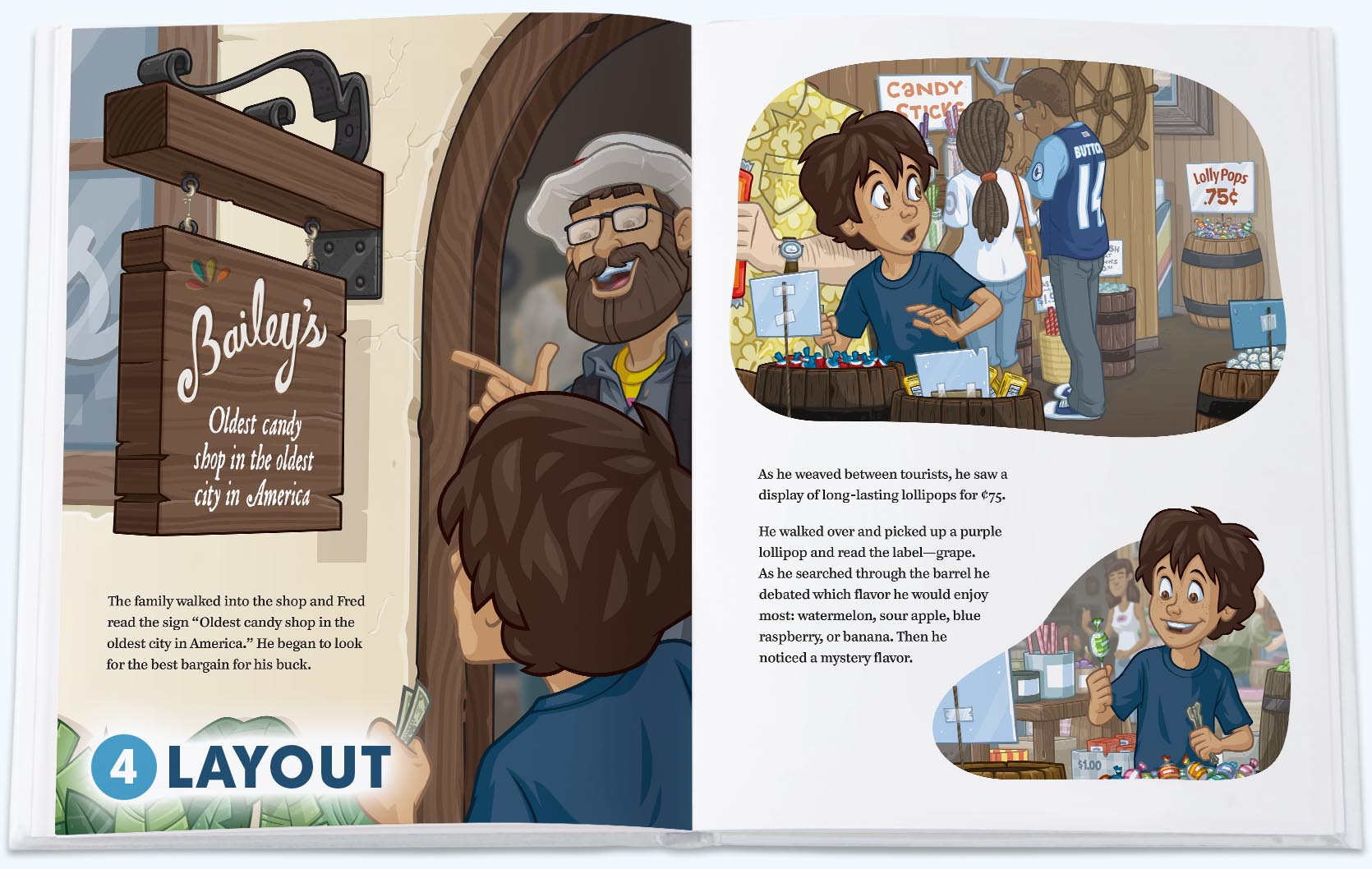 childrens book layout