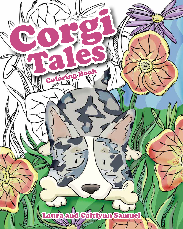 corgi tales coloring book mascot books mascot books