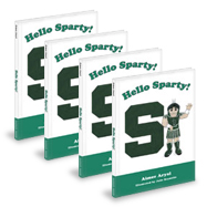 Sparty's Journey Through Michigan 4 Pack