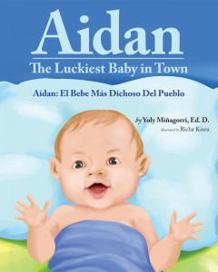 Aidan,TheLuckiestBabyInTown_Amazon