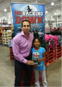 Sean Stellato No Backing Down at a Book Signing in Salem, MA