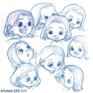 sketch heads