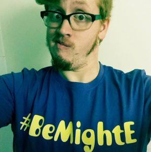 #BeMightEShirt