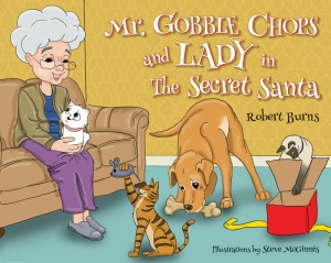mrgobblechopsandladyinthesecretsanta_amazon