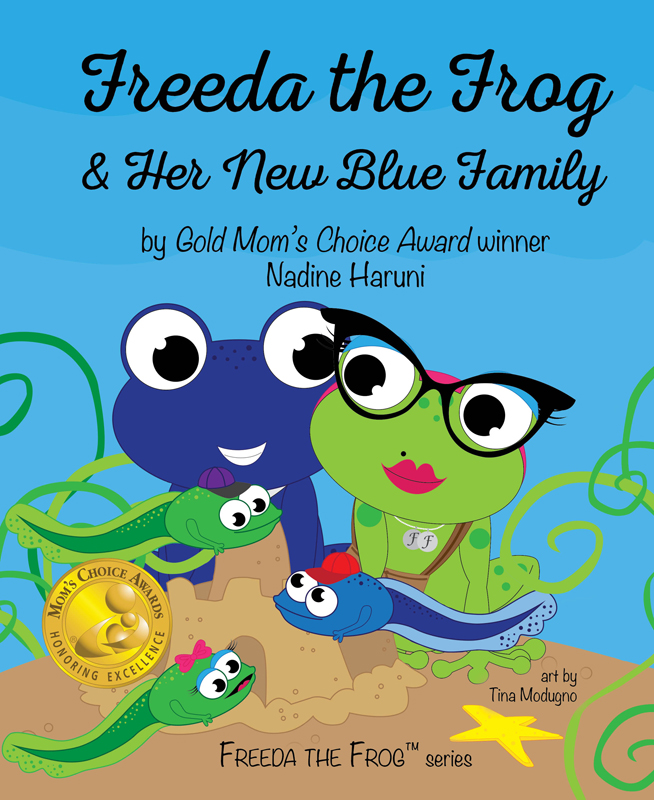 FreedaFrogNewBlueFamily_Cover
