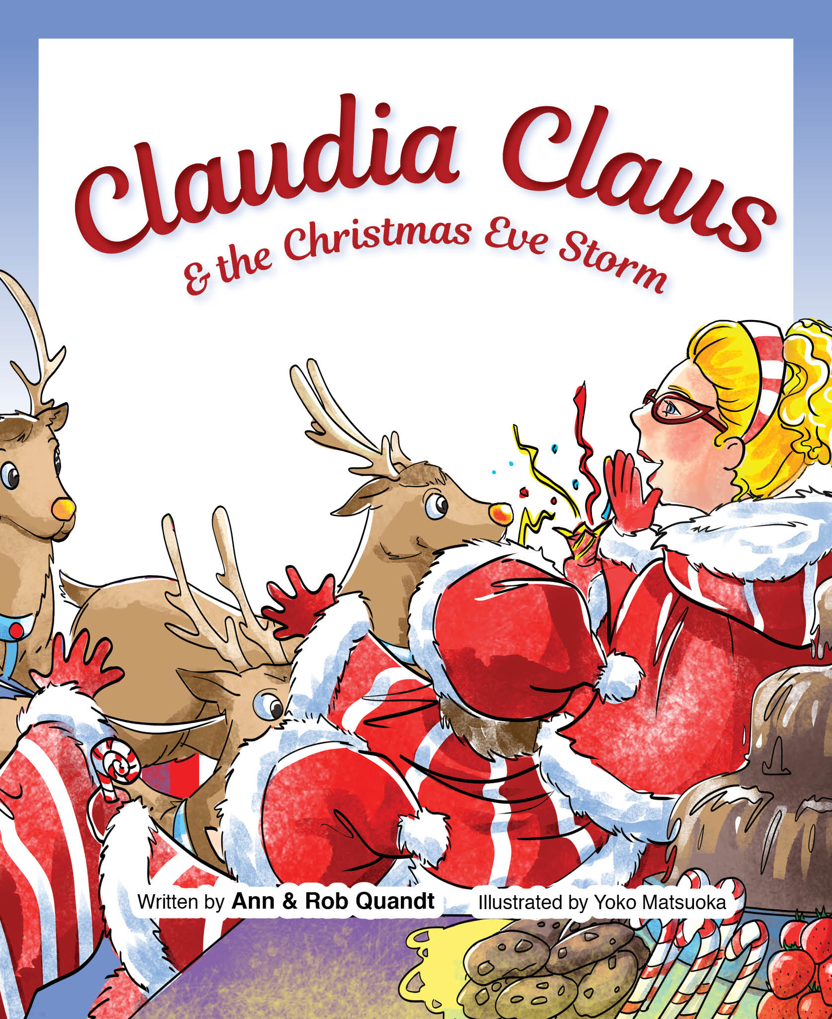 The Christmas Clause.Claudia Claus The Christmas Eve Storm
