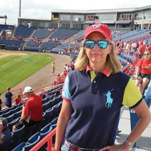 Washington Nationals A to Z Author Ann Lambert