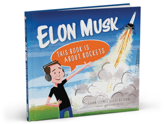 Elon Musk - This Book is About Rockets cover