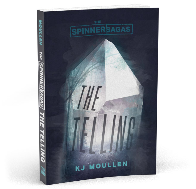 The Spinner Sagas - The Telling Cover