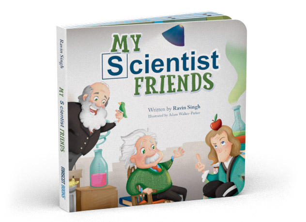 My Scientist Friends cover