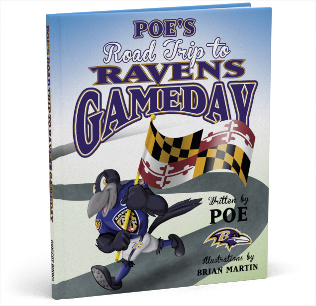 Poe's Road Trip Ravens Gameday cover