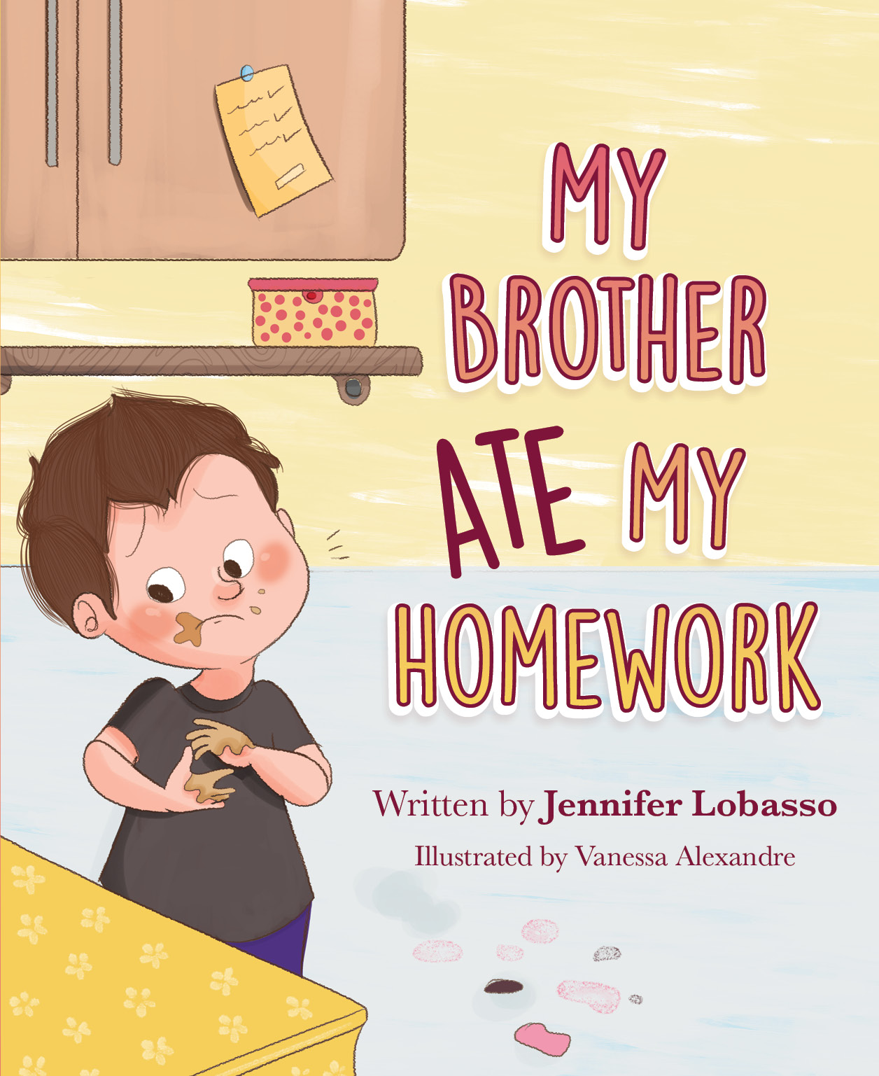 MyBrotherAteMyHomework_Amazon